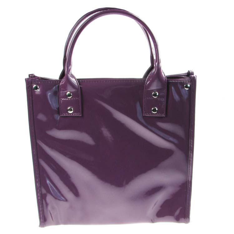Purple Lunch Tote Bag Insulated