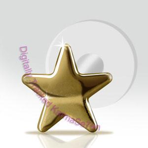 5c8e7277c 9ct Gold Star Tragus Stud Small - Unistylez.com
