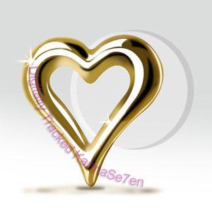 5b927b038 9ct Gold Open Heart Tragus Stud - Unistylez.com