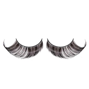 Black False Eyelashes Full Flared Glamour
