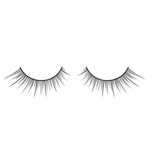 Black False Eyelashes Zig Zag