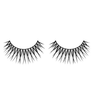 Black False Eyelashes CrissCross Glamour