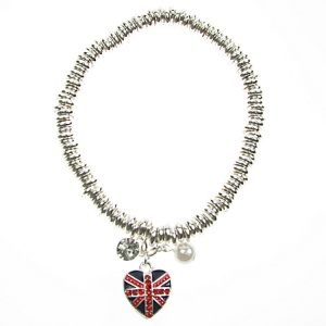 Union Jack Sweetie Bracelet