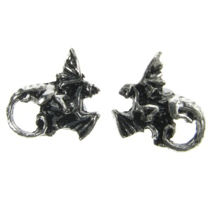 Alchemy Gothic Whitby Whim Stud Earrings