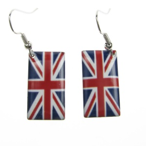 Union Jack Earring