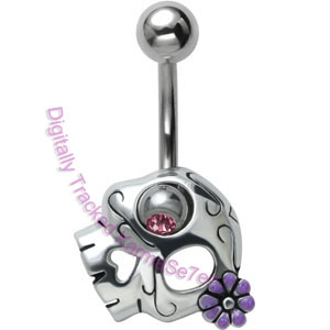 Sugar Skull - Belly Bar
