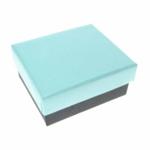 Turquoise and Black Small Box