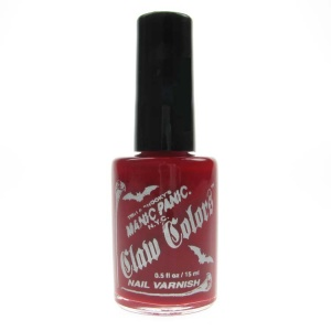Manic Panic Nail Polish Blood Red Metalic