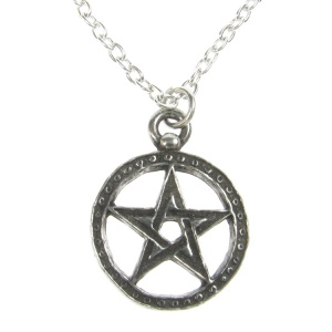 Alchemy Gothic Dantes Hex Pendant and Chain