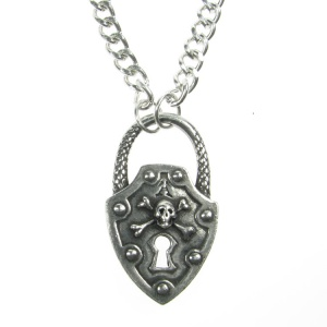 Alchemy Gothic Til Death Pendant and Chain