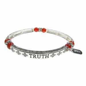 Agate Sentiment Bracelet - Truth