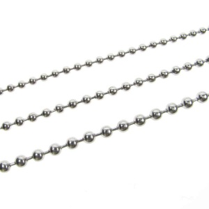 Ball Chain Necklace Stainless Steel