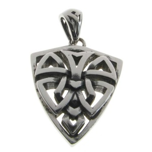 Gothic Shield Pendant