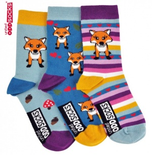 Oddsocks Kids - Fox