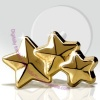 9ct Gold Triple Stars Tragus Stud