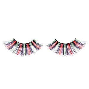 Multicolour False Eyelashes Flared Long