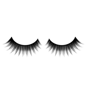 Black False Eyelashes Zig Zag Full