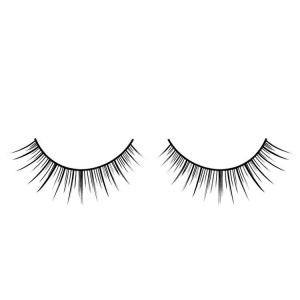 Black False Eyelashes Fine Short and Long