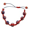 Union Jack Friendship Bracelet