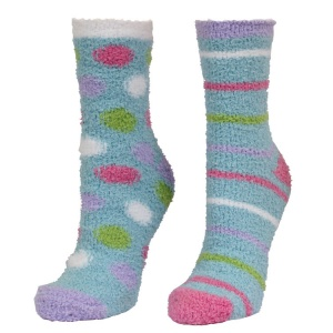 Oddsocks Fluffy Cosy Designs 2 Sock Pack