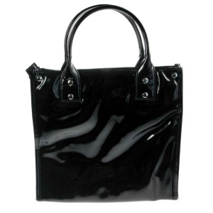 Black Lunch Tote Bag Insulated