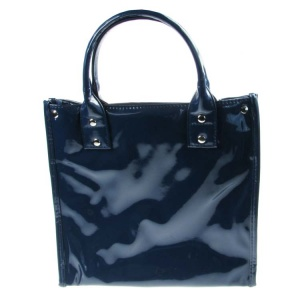 Navy Lunch Tote Bag Insulated