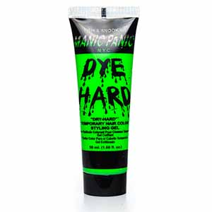 Manic Panic Dye Hard Styling Gel Electric Lizard Green