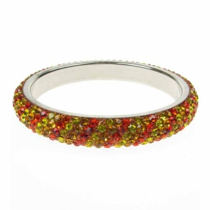 Sunshine Yellow Crystal Bangle