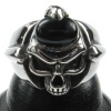 Kool Katana Skull and Black Onyx Ring