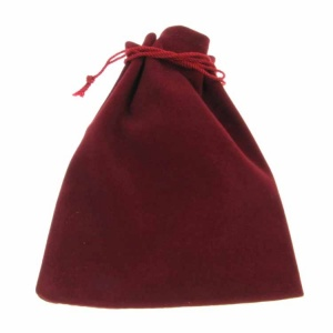 Large Burgundy Pouch
