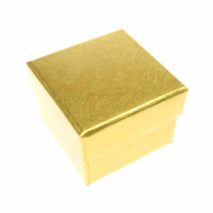 Gloss Gold Ring Box