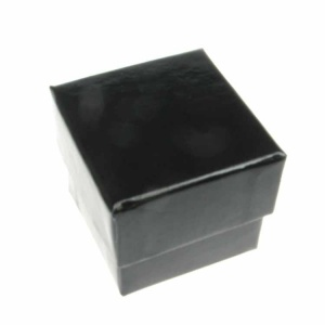 Gloss Black Ring Box