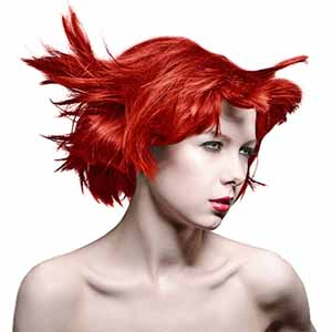 Manic Panic Hair Dye Pillarbox Red
