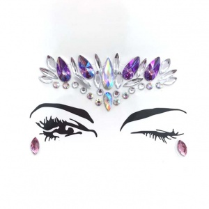 Tear Drops and Tiaras face gems all in one set