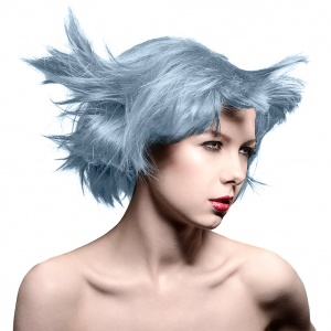 Manic Panic Blue Steel Silver Hair Dye