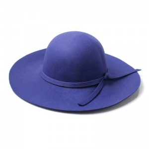 Purple Floppy Fedora